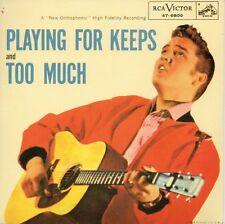 ★☆★ CD Single Elvis PRESLEY Playing For Keeps 2-track CARD SLEEVE    ★☆★