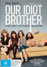 Paul Rudd Zooey Deschanel Elizabeth Banks OUR IDIOT BROTHER DVD (NEW & SEALED)