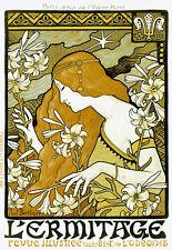 Art Deco-L Ermitage Ilustrado Libro-arte cartel impresión A3