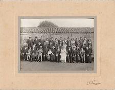 Photo ancienne mariage vendéen noce maraichine St Jean de Monts