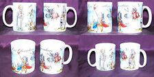 2 Mugs décor chevaliers médiévaux