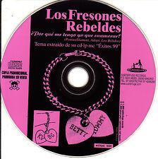 CD SINGLE promo LOS FRESONES REBELDES por que me tengo que enamorar SPAIN 1999