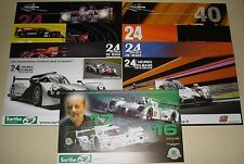 Le Mans WEC ELMS Sarthe Card Set Alpine Ligier Dome Oreca Pescarolo Loeb Boutsen