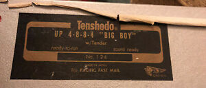 HO Brass Locomotive 4-8-8-4 Tenshodo Union Pacific #4004 Challenger 1977