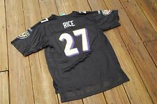 Baltimore Ravens Ray Rice Youth XL fits sizes 18/20 black Reebok jersey