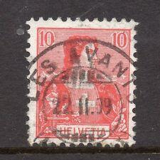 Switzerland Fine Postmark 1909 on 10c. 062042