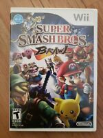 Nintendo Wii: Super Smash Bros. Brawl- Complete & Mint