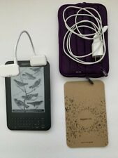 "Amazon Kindle 3rd Generation D00901 4GB Wi-Fi 3G unlocked 6"" graphite"