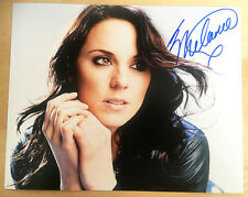 MELANIE C SIGNED 10x8 PHOTO Melanie Chisholm THE SPICE GIRLS Sporty Spice