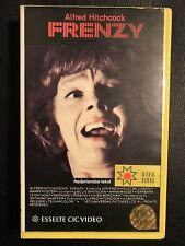 Frenzy Ex-Rental Vintage Big Box VHS Tape English dutch subs Horror