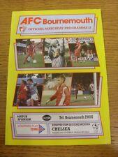 28/11/1989 Bournemouth V Chelsea [ZENITH Data Systems COPPA]. grazie per la visualizzazione