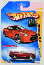 HOT WHEELS 2009 NEW MODELS 2009 NISSAN GT-R #01/42 RED FACTORY SEALED