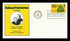 DR JIM STAMPS US NATIONAL PARKS SERVICE SCOTT 1314 UNSEALED FDC COVER