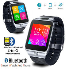 2-in-1 GSM Unlocked Bluetooth Sync SmartWatch For Galaxy S6 Edge Note 4~NEW!!!