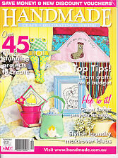 Handmade - craft decorating sewing 45 projects Vol 26 no 8