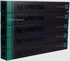 50 Nuovo Originale Nespresso Fortissio lungo Gusto Capsule Caffè Capsule UK