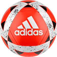 adidas Starlancer V genähter Fußball Größe 5 rot / weiß [CD6580]