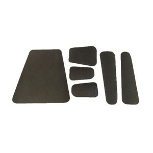 Hood Insulation Pad Tar Saturated Waffled for 1958 Edsel Pacer Ranger Gray/Black