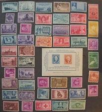 US Postage Stamps Mint OG NH 1946-1949 Year Sets complete Scott 939 - 986