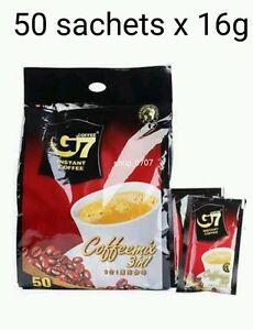 50 sachets x 16g Vietnamese Trung Nguyen G7 Instant Coffee 3 in 1 Coffeemix