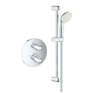 Grohe Grohtherm 1000 Modern concealed Thermostatic Shower Set 34575001