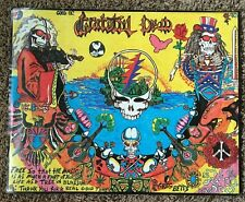 Good Ol' Grateful Dead 25 Years poster 1990 psychedelic acid 19.25x24.25 G Betts