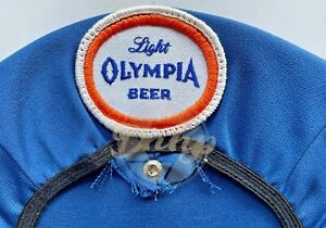 Olympia Light Beer Hat Cling Top Union Vintage Made USA NOS