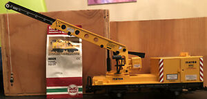 LGB 4042 Matra Yellow Construction Crane Car G-Scale - Pre Owned