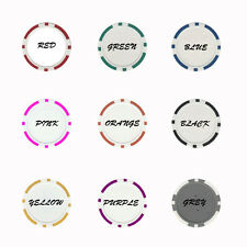 Personalized Poker Chip Assorted Colors