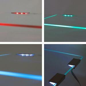 RGB LED Glaskantenbeleuchtung 1 - 36 Clips Komplettset Schrank und Vitrinenbeleu