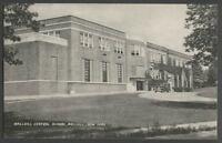 Wallkill Shawangunk Ulster County NY: c.1940s Postcard WALLKILL CENTRAL SCHOOL