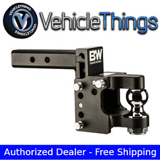 B&W Tow & Stow Adjustable Pintle/Ball Mount Trailer Receiver Hitch Part TS10056