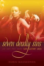 Seven Deadly Sins V 3 Sloth Gluttony Greed Robin Wasserman 2013 PAPERBACK EROTIC
