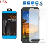 9H ULTRA CLEAR TEMPER GLASS SCREEN PROTECTOR For SAMSUNG GALAXY S7 Active USA