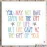 Step Dad Fathers Day Card Stepdad Father's Day Step Mum Birthday Christmas Card