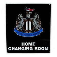 Newcastle United FC Official Crested Metal Home Changing Room Sign