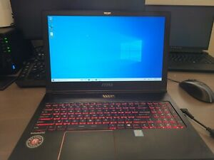 MSI GS63VR 6RF Gaming Laptop - Nvidia GTX 1060
