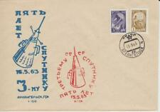 "UdSSR Space ""Sputnik 3"" 5. Anniversary of the launch Oblast, 15.5.1963"