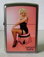 Zippo vintage pinup girl sophia limited edition 43 van 250