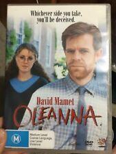 Oleanna region 4 DVD (1994 David Mamet / William H Macy drama movie) VERY RARE
