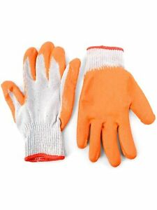Working Gloves with Rubber Coated Palm - Grip Gloves for Working With Multi Pack