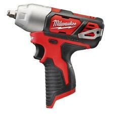 Milwaukee 2463-20 M12 de 12 voltios de 3/8 Pulgada Llave de impacto con Clip de cinturón