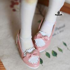1/4 BJD Shoes MSD Dollfie AOD DOD SOOM LUTS EID DZ Shoes Pink Lolita Shoes 0529