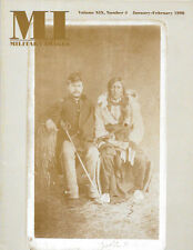 Military Images Magazine Jan 98 Brule Sioux Warrior Colpeper Backdrop Fake Photo