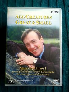ALL CREATURES GREAT AND SMALL- SERIES 1, VOLUME 1 – DVD, 3-DISC - R-4 VERY GOOD