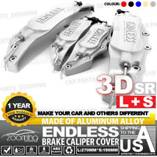 SR Aluminum alloy 3D ENDLESS Style Universal Brake Caliper Cover 4 Pcs L+S LW03
