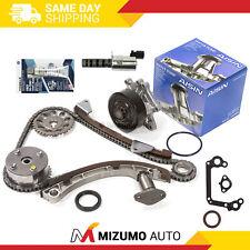 Timing Chain Kit VVT Gear Solenoid AISIN Water Pump Fit Toyota Pontiac 1ZZFE