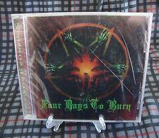 Four Days To Burn Album Southern Corruption CD New Sealed Sludge Doom Metal