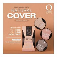 organic nails acrylic NEW  Set of 3 Covers    (free 2 decorations)
