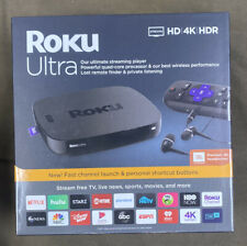 Roku Ultra (4670R) - Streaming Media Player 4K HD HDR with Headphones - Black